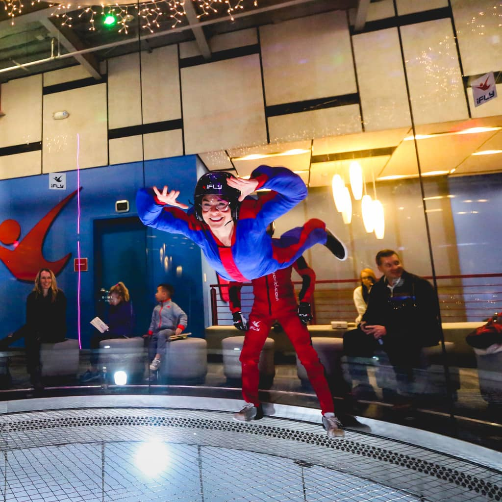 DISCOVERING DALLAS: IFLY INDOOR SKYDIVING