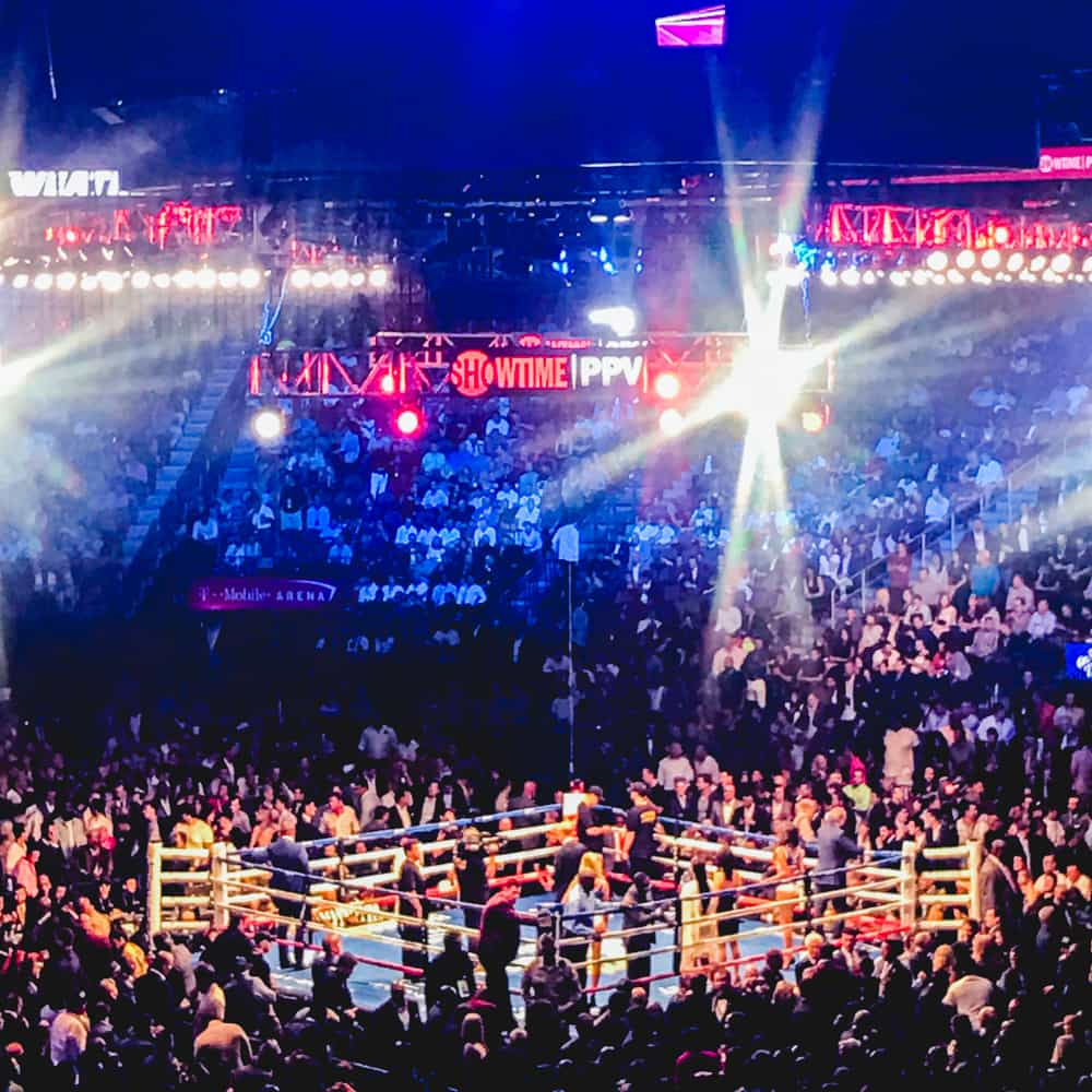 TRAVEL – FIGHT NIGHT IN VEGAS
